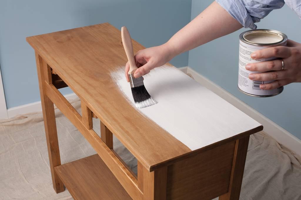 Leren Stoel Verven : Meubels schilderen spuiten schilder nijmegen